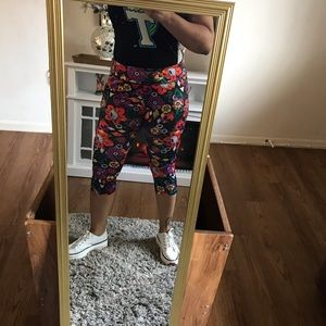 Lularoe New leggings with label multiple colors si